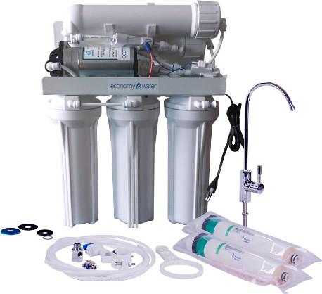 RO Traditional 360 GPD nagyobb teljesítményű pumpával