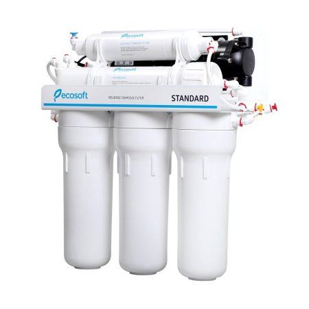 BWT 5 lépcsős Fordított ozmózis víztisztító nyomásfokozó pumpával
