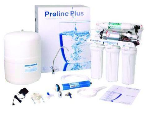 Proline Plus 5 lépcsős fordított ozmózis víztisztító, nyomásfokozó pumpával