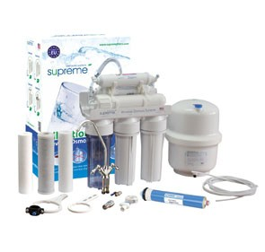 Supreme 6 lépcsős fordított ozmózis víztisztító